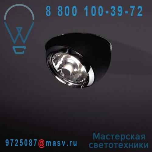 11050432 + 1111360 Spot encastrable Noir - BOLSTER Modular Lighting