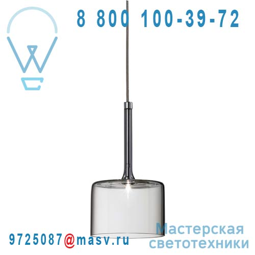 SPSPILLGCSCR12V Suspension L Transparent - SPILLRAY AXO Light