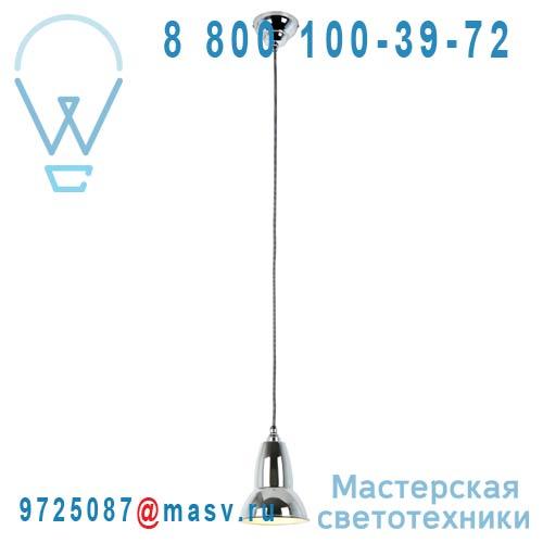 30914 Suspension Chrome fil Noir/Blanc O14,5cm - DUO Anglepoise