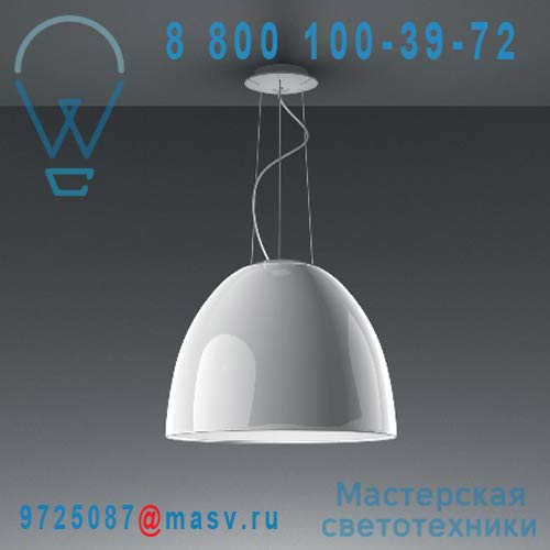 A242100 Suspension Blanc Laque - NUR Artemide