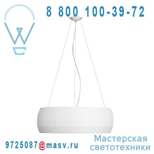 637100 Suspension Blanc L - ISAMU Carpyen