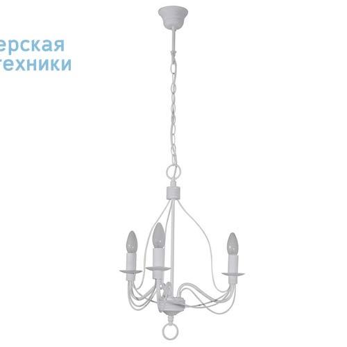 78029 Blanc Lustre 3 Lampes Blanc - SYMPHONIE Corep