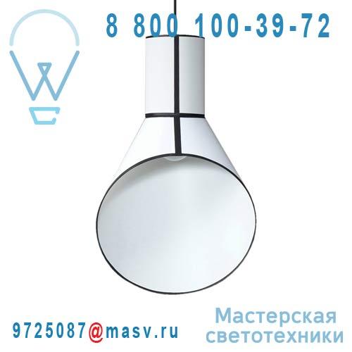 S67pccb Suspension Blanc/Blanc - PETIT CARGO DesignHeure