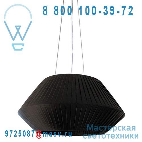 H268 Noir Suspension Noir M - RUBAN Dix Heures Dix