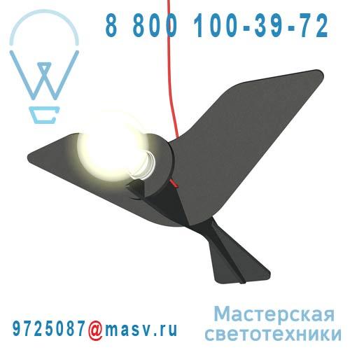 CJ01SA003001 Suspension Oiseau Noir - GET OUT ENO Studio