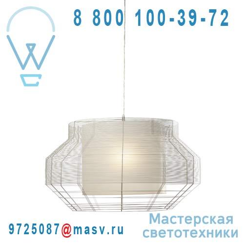 AL24170L (2colis : AL24170L + AL24111L) Suspension Blanc L - MESH Forestier