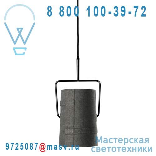 LI0472 25 E Suspension Gris/Marron O22cm - FORK Foscarini