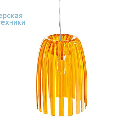 1936509 Suspension Orange Transparent O21,8cm - JOSEPHINE Koziol