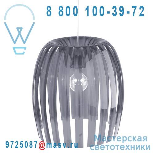 1932540 Suspension Gris Transparent O50cm - JOSEPHINE Koziol