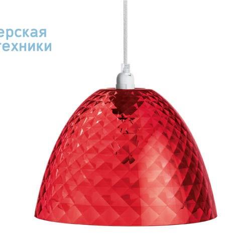 1943536 Suspension Rouge Transparent O25,5cm - STELLA Koziol
