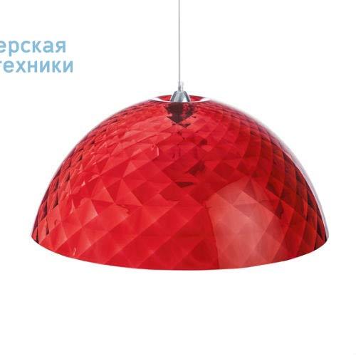 1942536 Suspension Rouge Transparent O66,9cm - STELLA Koziol