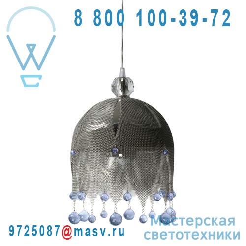 0LDBR.S44.*****250 bleu Suspension cristal Swarovski bleu S - MATHILDE OU JUDITH Le Labo Design