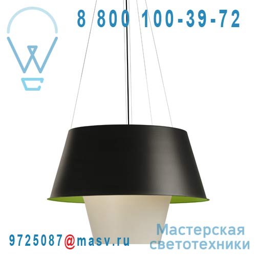 266604710 Suspension Noir/Vert/Blanc L - TANUKI Metalarte