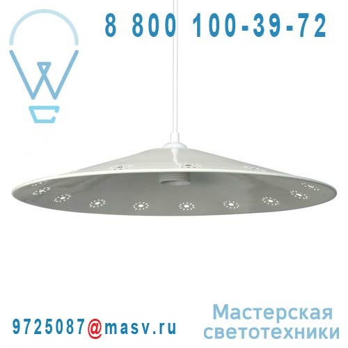 13111LS/069 Suspension Blanc - ASTER Metropolight
