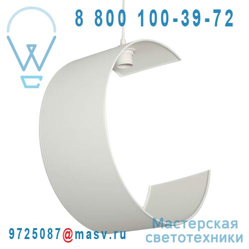1224100/004 Suspension Blanc - ECLIPSE Metropolight