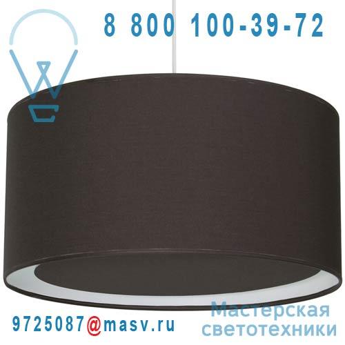 1223600/056 Suspension occultant O40cm Chocolat Noir - ESSENTIEL Metropolight