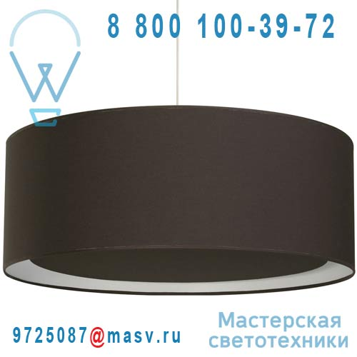 1222300/056 Suspension occultant O60cm Chocolat Noir - ESSENTIEL Metropolight