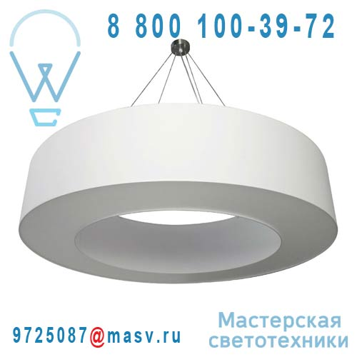 1228400/004 Suspension O120cm Blanc - HALO Metropolight