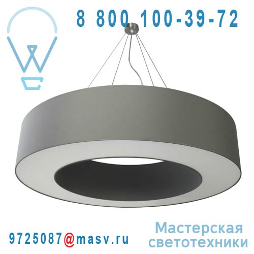 1228400/088 Suspension O120cm Gris galet - HALO Metropolight