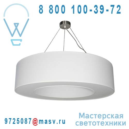 12264CI/004 Suspension O80cm Blanc - HALO Metropolight