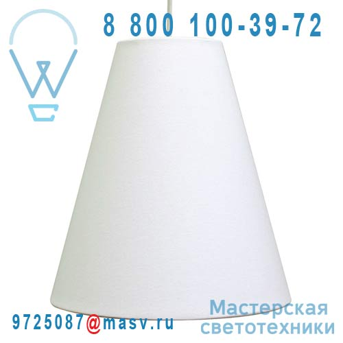 1219300/004 Suspension Blanc - LILY Metropolight