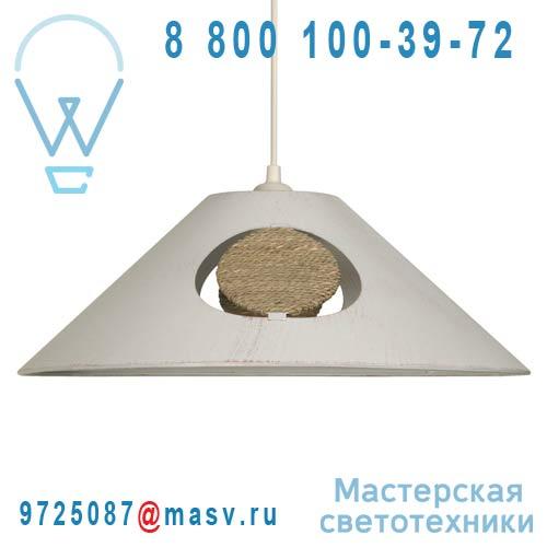 13118LS/004 Suspension Blanc - ZEN Metropolight