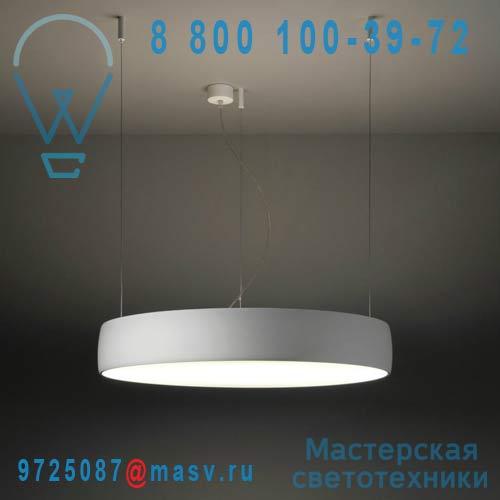 11840209 + 11340409 + 11839909 Suspension S Blanc - FLAT MOON Modular Lighting