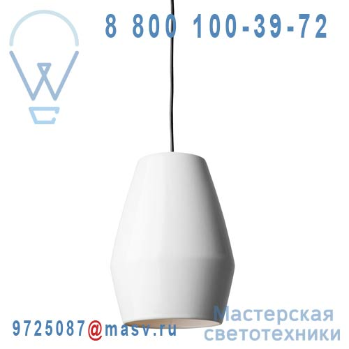 Bell pendant white Suspension Blanc - BELL Northern Lighting