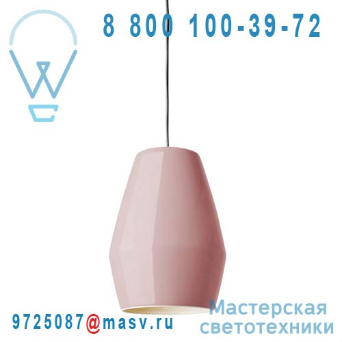 Bell pendant pink Suspension Rose - BELL Northern Lighting
