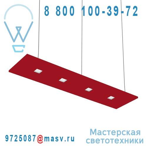 100-20C70.20N0RJ/DE + 100-00268 Suspension Rouge Neutre 120cm - LARIS Nowleds