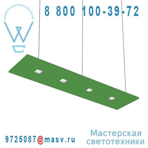 100-20C120.30N0VC + 100-00271 Suspension Vert Clair Neutre 120cm - LARIS Nowleds