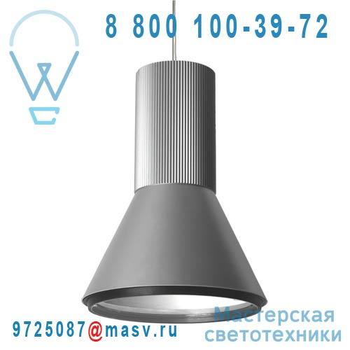 03440601127 Suspension LED Argent - APLOMB 350 Oggi Luce