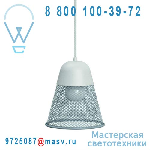 L0270103 Suspension Gris Bleu O19cm - RAY Petite Friture