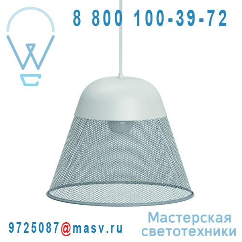 L0270203 Suspension Gris Bleu O40cm - RAY Petite Friture