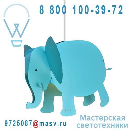 SE6 Suspension Turquoise - ELEPHANT Rosemonde et Michel Coudert