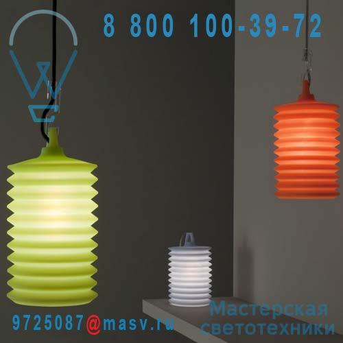 1LPH1 003 00 Suspension interieur orange - LAMPION Rotaliana