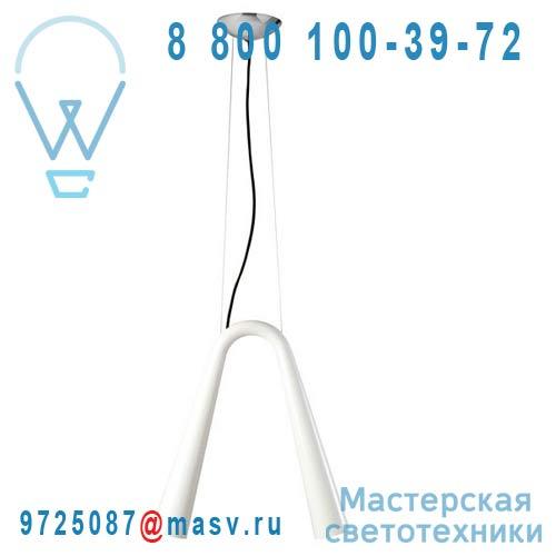 1LBH2 N00 02 Suspension Blanc/Noir L - LEDBELL Rotaliana