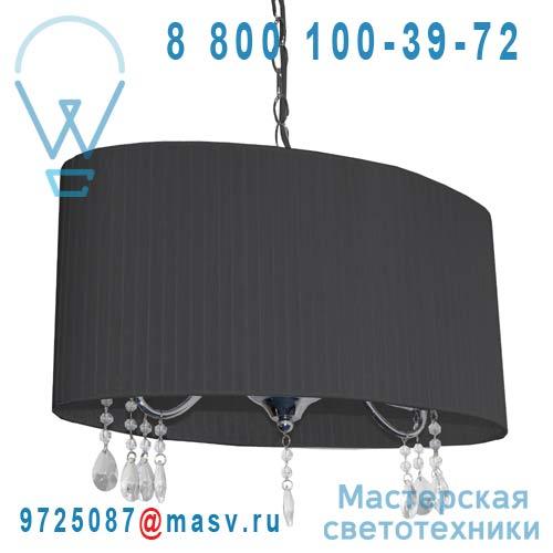 0129468 Lustre ovale Noir - BARNABE Seynave