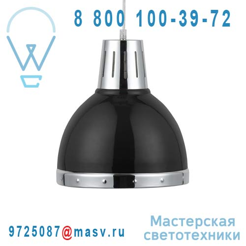 0128171 Suspension Noir/Chrome - CYNTHIA Seynave