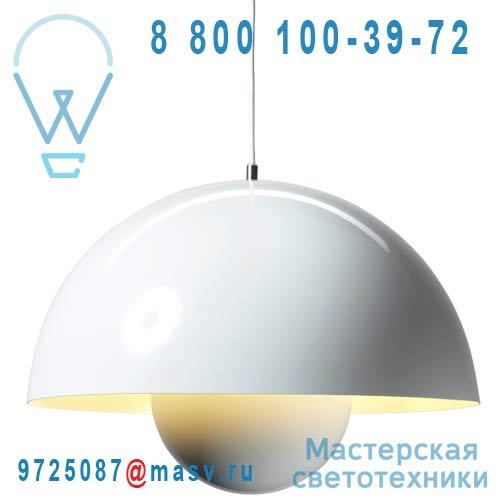 207630 Suspension Blanc O50cm - FLOWERPOT & Tradition