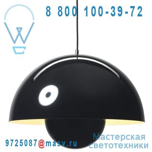 207694 Suspension Noir O50cm - FLOWERPOT & Tradition