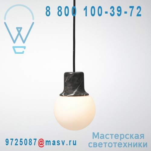 20610100 Suspension Marbre 1 lumiere - MASS LIGHT & Tradition