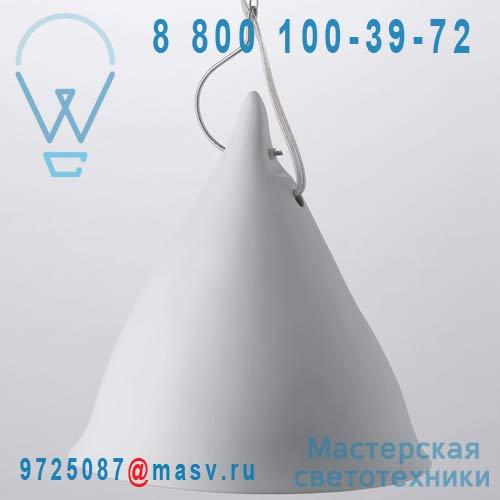 0741 Suspension porcelaine Blanc mat O26cm - CORNETTE Tse & Tse