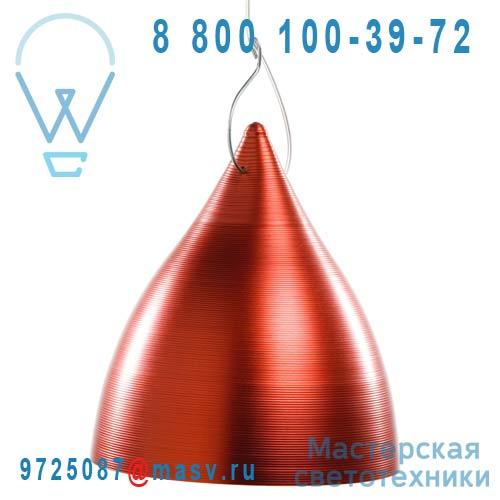 1226 Suspension rouge O23cm - CORNETTE Tse & Tse