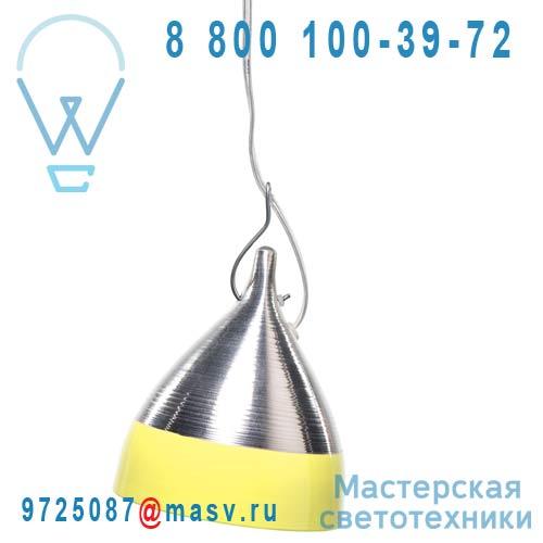 0754 Suspension alu et jaune O15,5cm - CORNETTE Tse & Tse