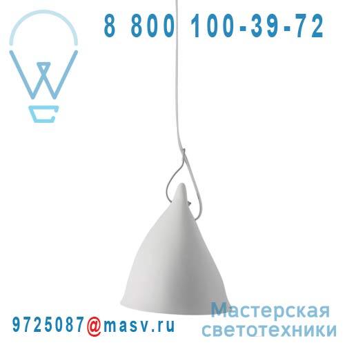 0704 Suspension porcelaine Blanc mat O16cm - CORNETTE Tse & Tse