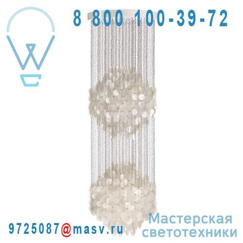 10650606001001 Suspension Nacre 2 spheres - FUN Verpan