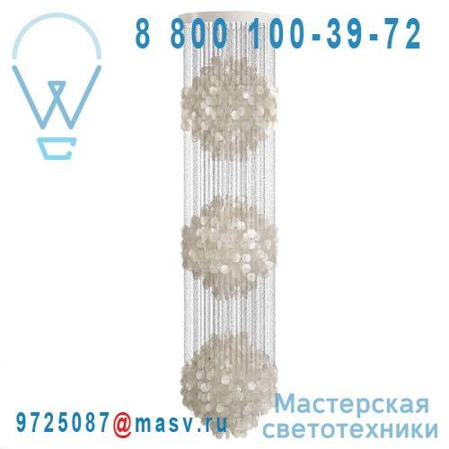 10620606001001 Suspension Nacre 3 spheres - FUN Verpan