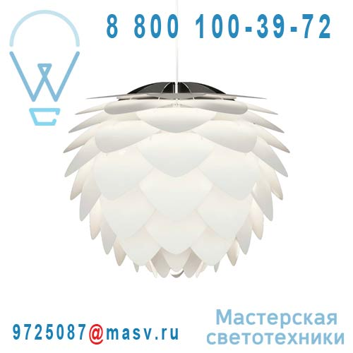 Светильник 02009 + 04005 Suspension Blanc O34cm - SILVIA Vita
