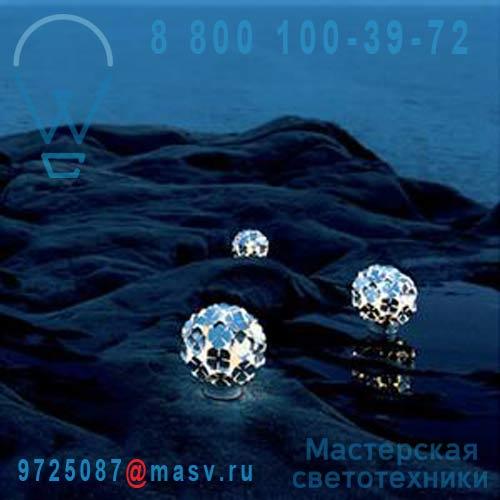 """OM50BG7C8 Lampe rechargeable Argent - ORTEN""""ZIA Terzani"""